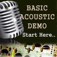 Basic Acoustic Demo - Songwriters demo or song demo