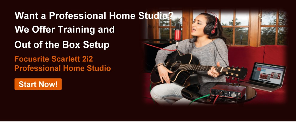 Setting Up Home Studio