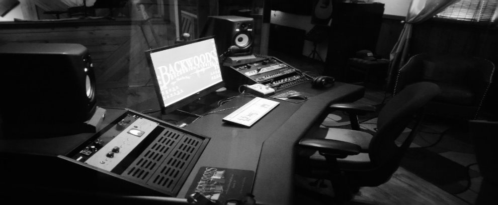 Backwoods Recording Studio Control Desk BW